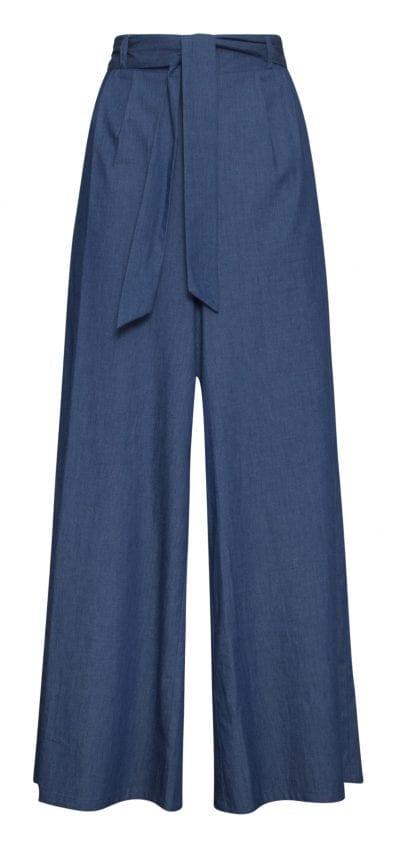 Jeansbroekrok lichtblauw