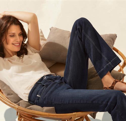 Jeans met rechte pijpen