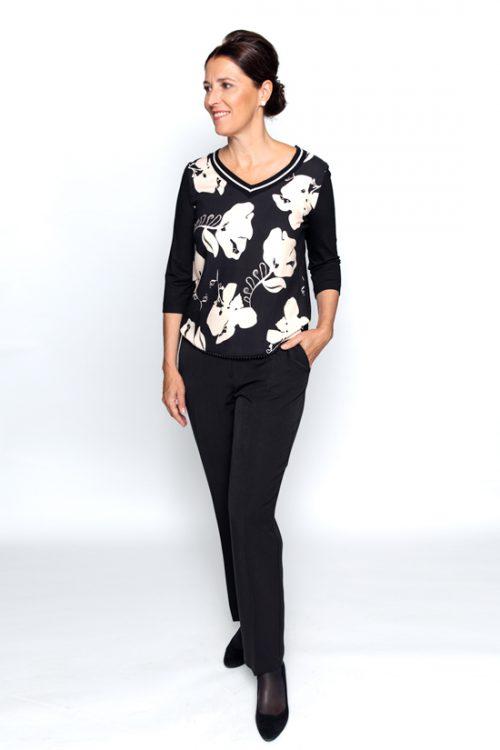 Shirt bloemmotief