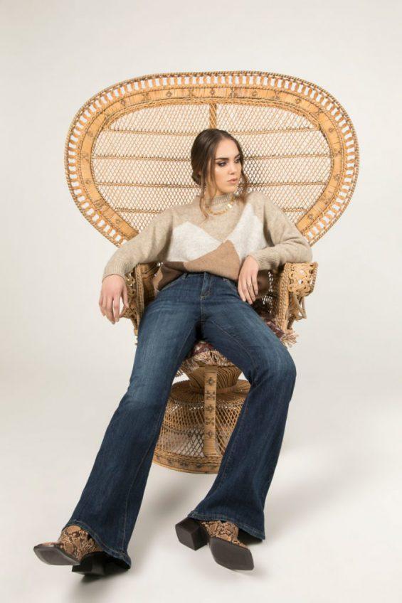 Jeans olifantenpijpen